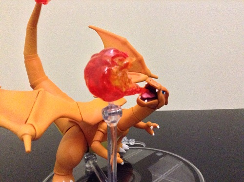 Charizard side flame